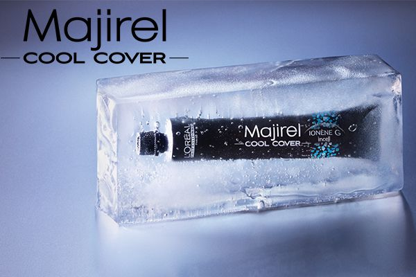 Cool Cover de Majirel : neutralisation optimale pour un résultat ultra froid !